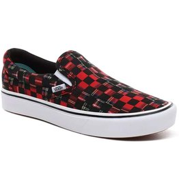 VANS Slip-On Comfycush (Plaid Check) Red
