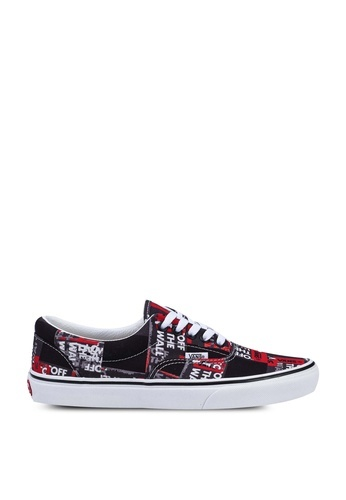 VANS VANS Era (Packing Tape) Black/Red/White