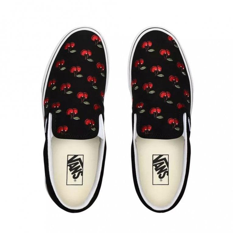 VANS VANS Slip-On (Cherries) Black