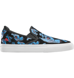 EMERICA Wino G6 Slip On X Santa Cruz - BLUE/BLACK/WHITE