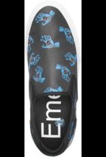 EMERICA Emerica Wino G6 Slip On X Santa Cruz - BLUE/BLACK/WHITE