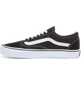 VANS Old Skool Lite (SUEDE/CANVAS)BLACK/WHITE