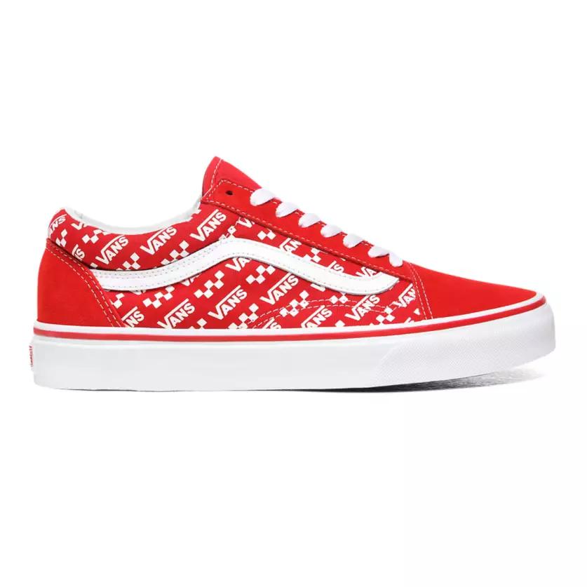 VANS Vans (Logo Repeat) Racing Red/True White