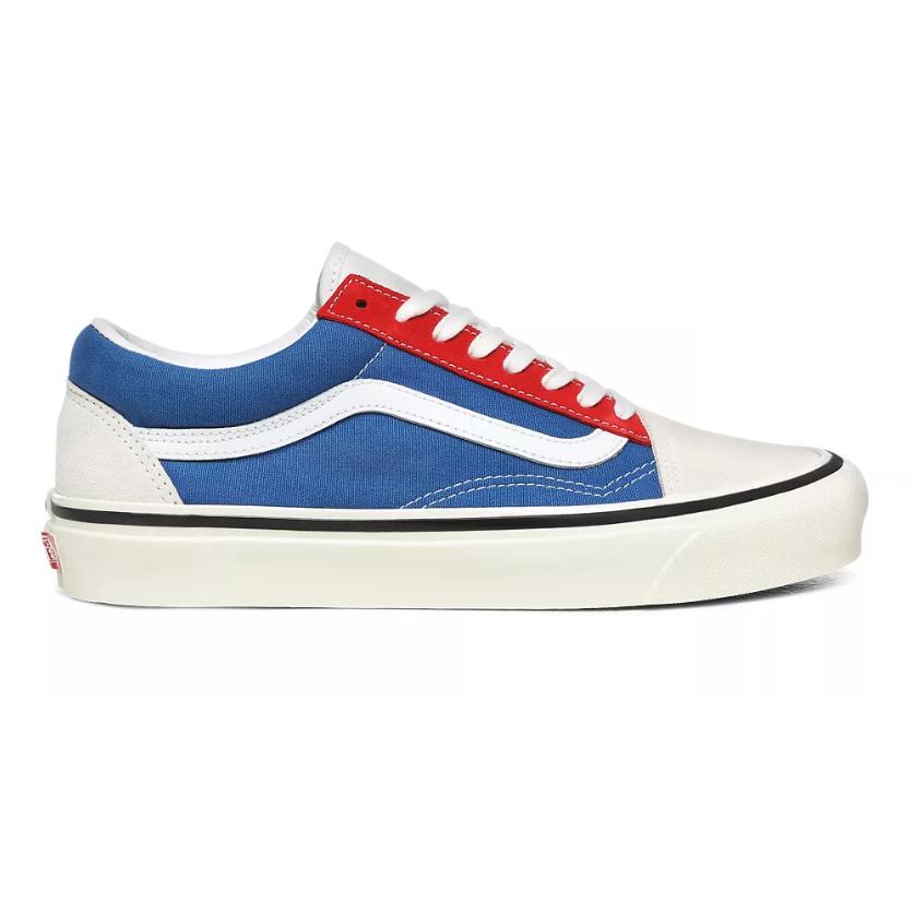 VANS Vans (Anaheim Factory) Og White/Og Blue/Og Red