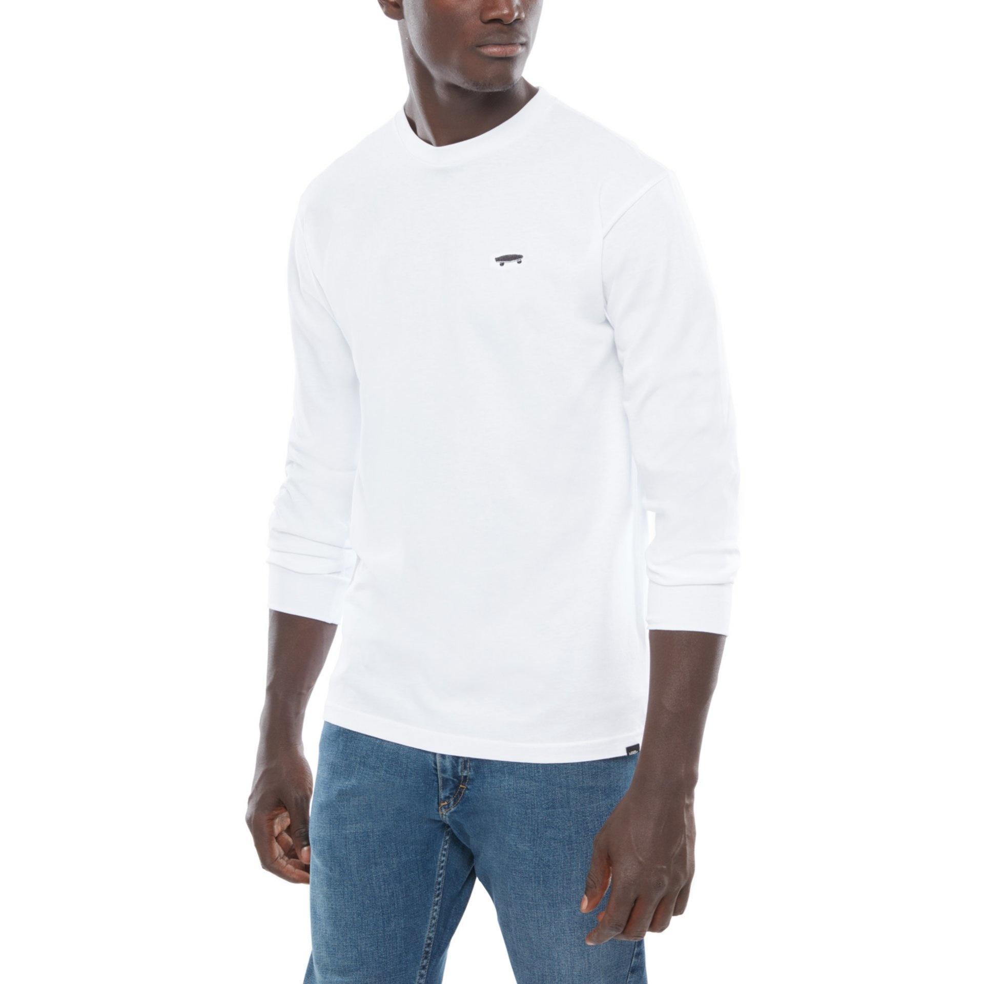 VANS Skate Tee LS White