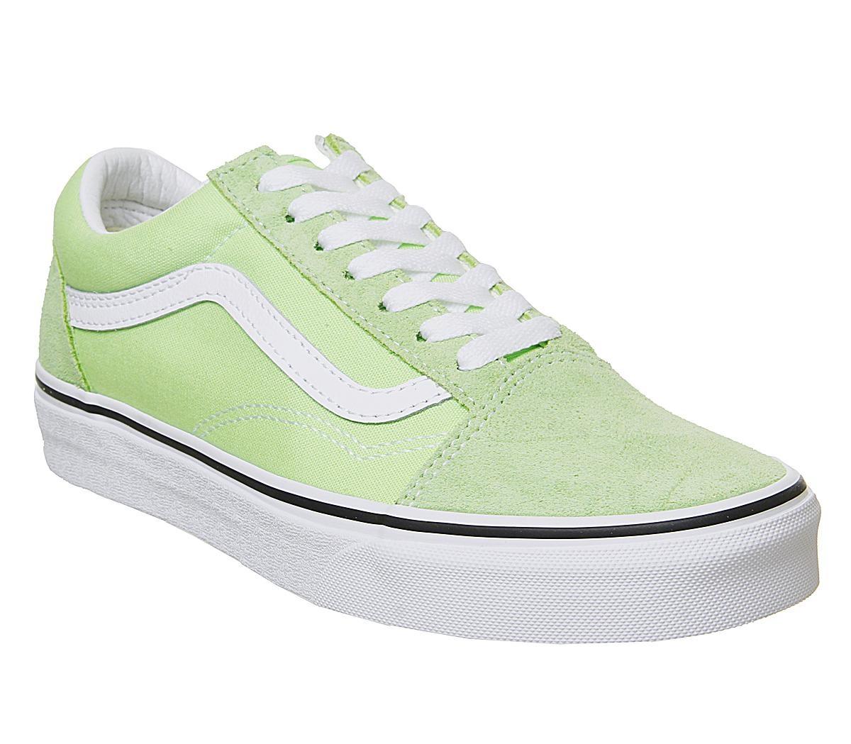 VANS Old Skool Sharp green/True White