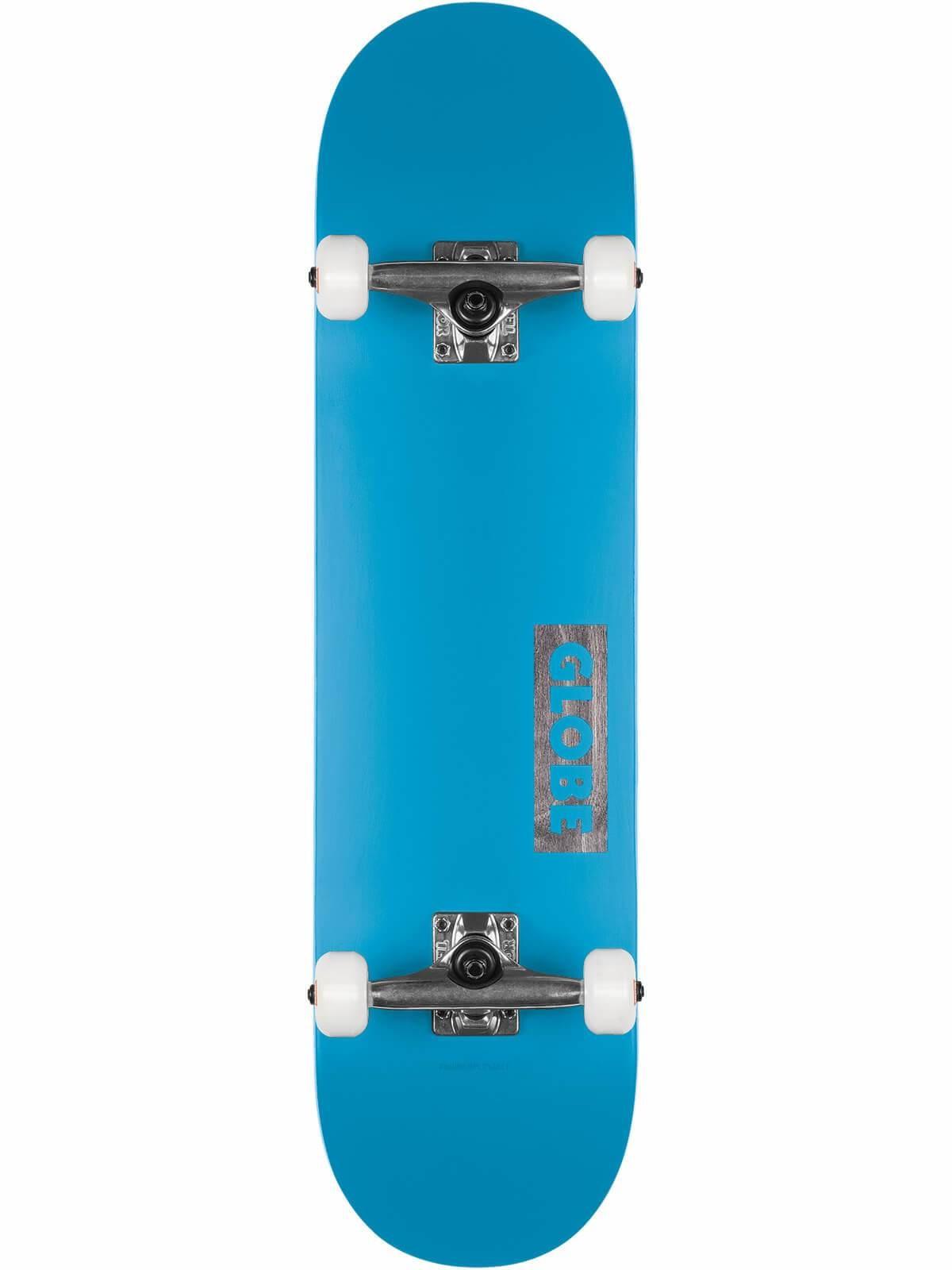 GLOBE Goodstock complete 8.375 - Neon Blue