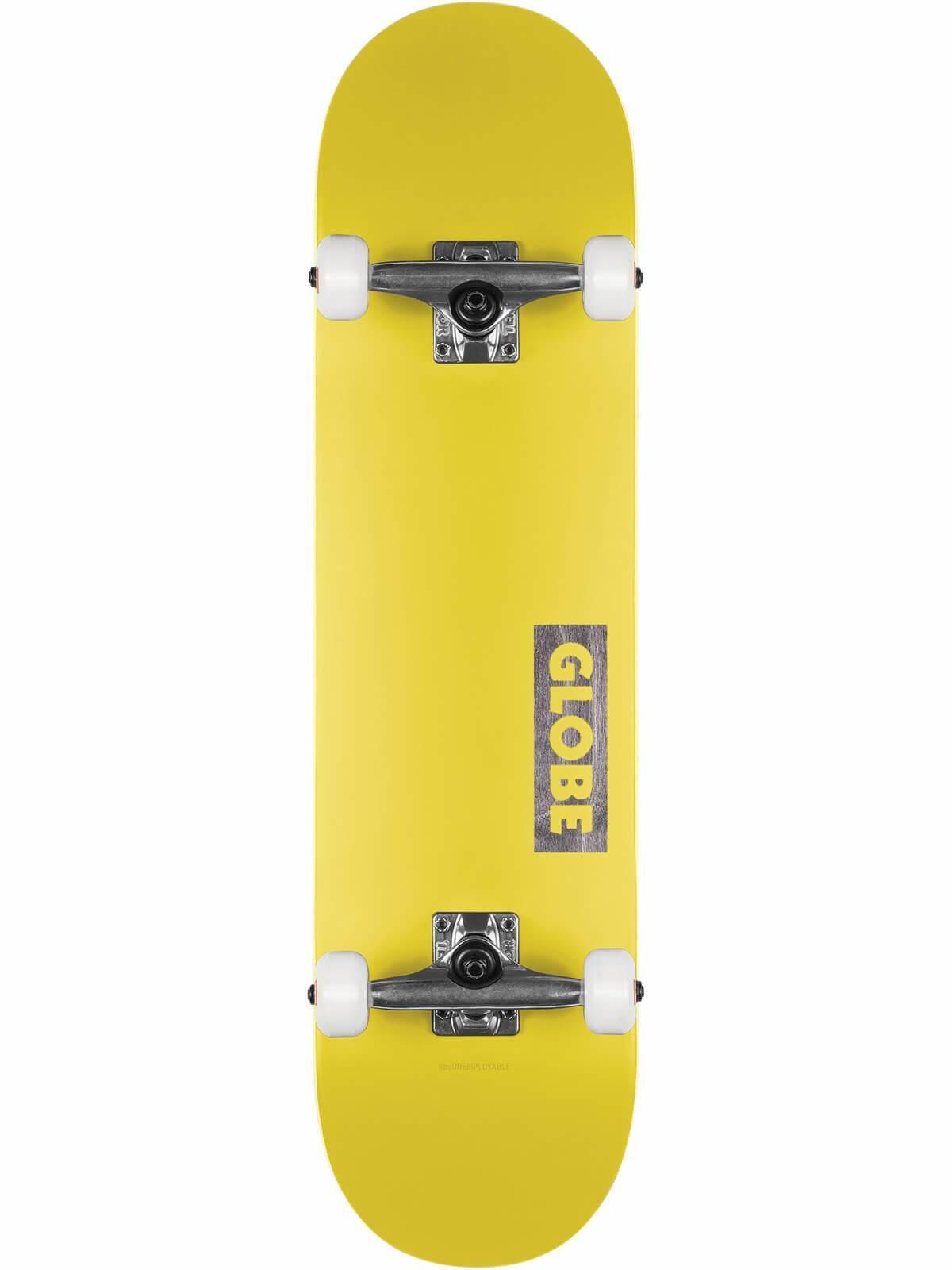 "GLOBE Globe Goodstock complete 7.75"" - Neon Yellow"