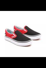 VANS Vans CHECKERBOARD COMFYCUSH SLIP-ON Black/Red Kids