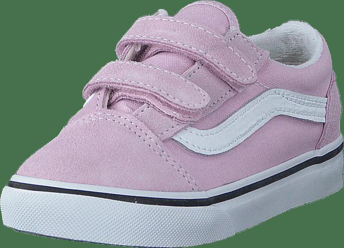 VANS Vans infant Old Skool V Lilac Snow/True White