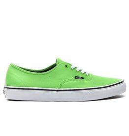 VANS Authentic Green Flash/Black