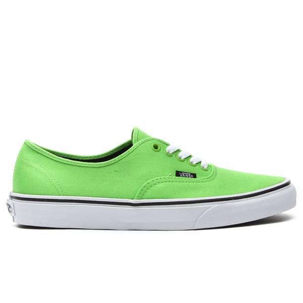 VANS VANS Authentic Green Flash/Black