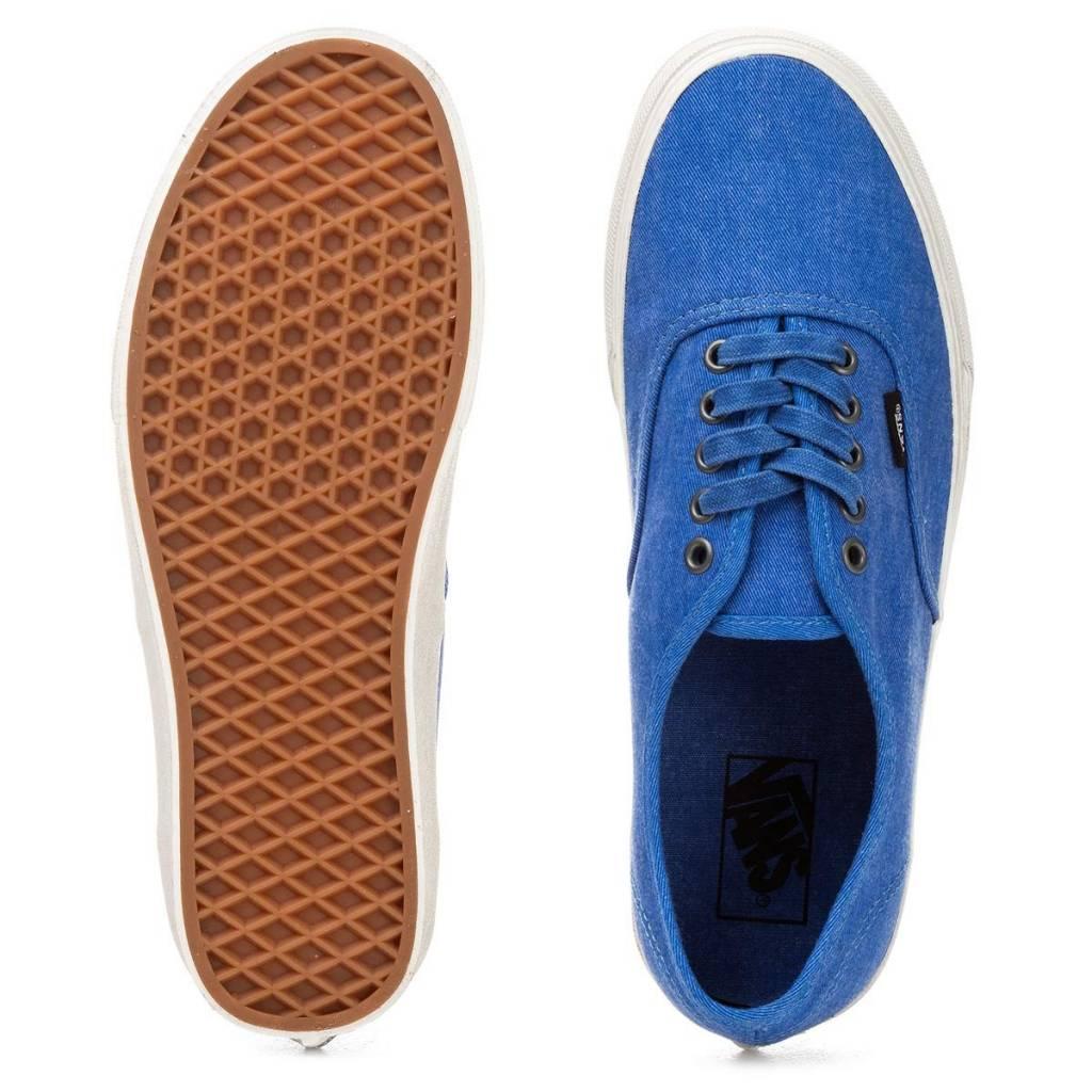 VANS VANS Authentic (Overwashed) Nautical Blue/True White