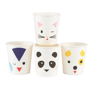 My Little Day Mini Animals Bekers - 8 stuks
