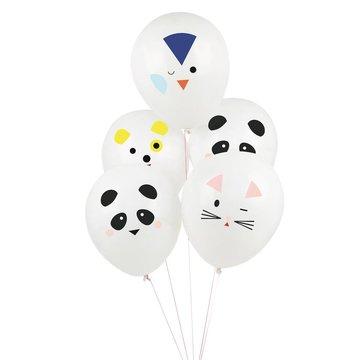 My Little Day Mini Animals Ballonnen - 5 stuks - 30 cm