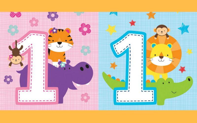Vier de eerste verjaardag met het vernieuwde safarithema