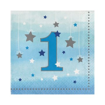 Creative Party One Little Star Boy Servetten - 16 stuks