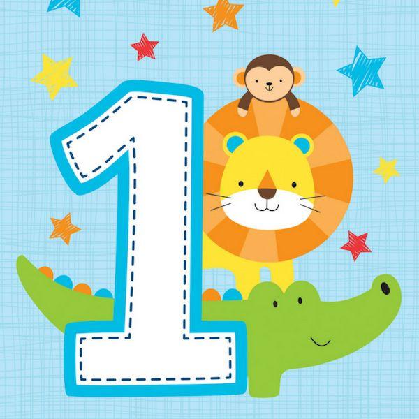 1 Jaar Safari Fun Jongen - 1 Jaar Feestartikelen en Versiering