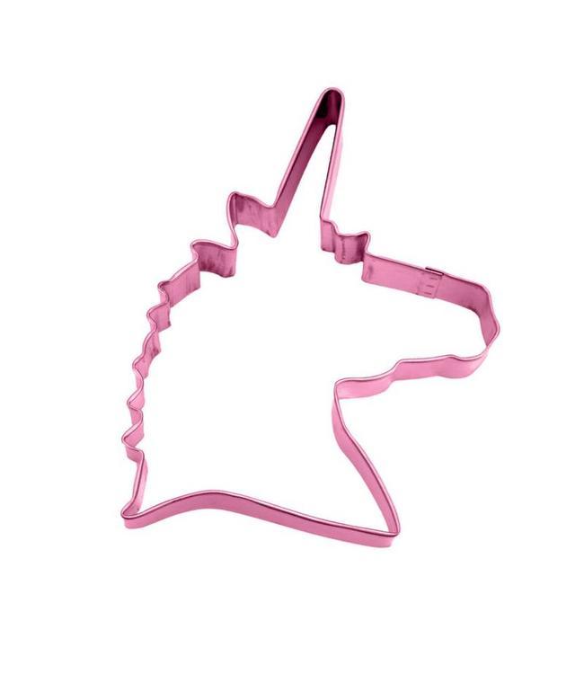 Creative Party Unicorn Hoofd Koekjesvorm - Uitsteker