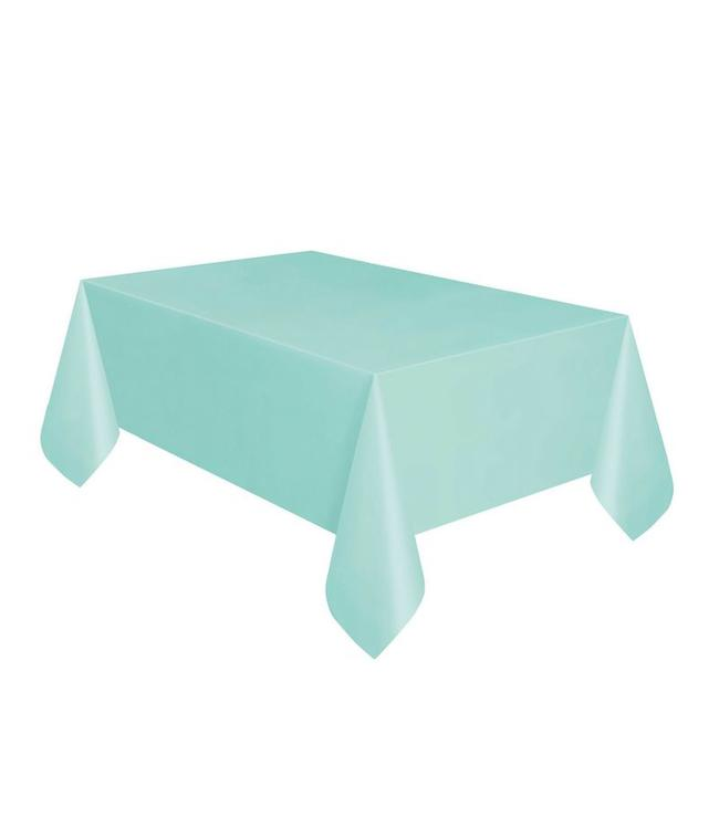 Unique Mint Tafelkleed - 1,37 x 2,74 meter - plastic