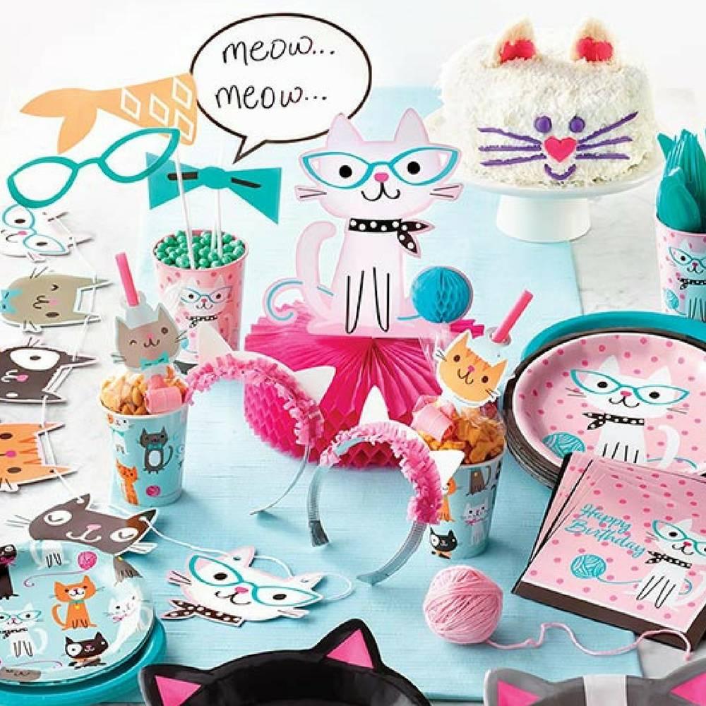 Meow! Purr-fect Feestartikelen en Versiering voor een snoezig feestje