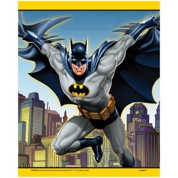 Unique Batman uitdeelzakjes - 8 stuks - plastic