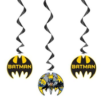 Unique Batman Hangdecoraties - 3 stuks