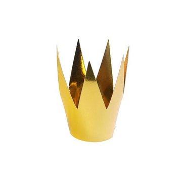 Partydeco Gouden Kroontjes - 3 stuks - karton