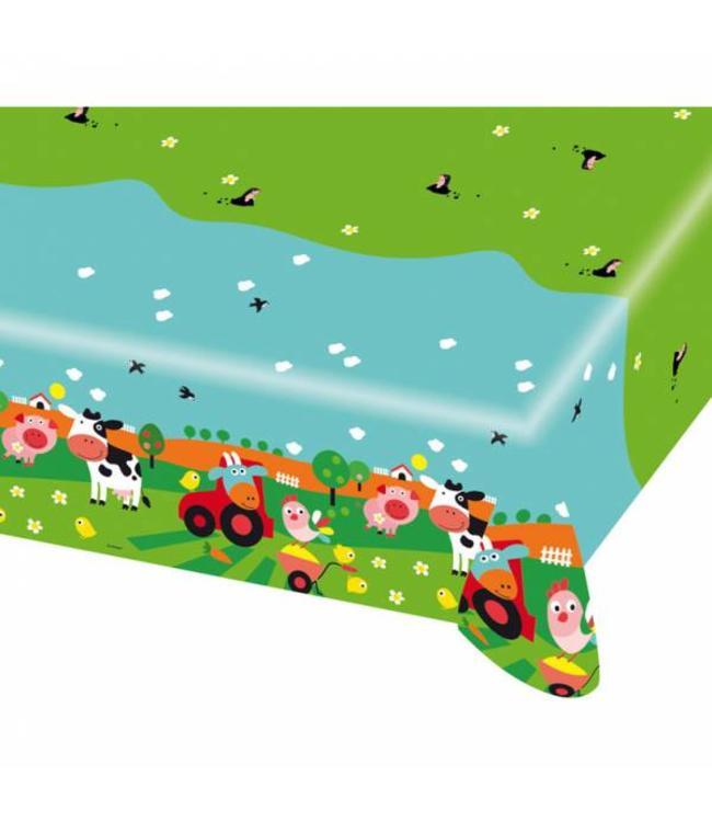 Amscan Boerderij Fun Tafelkleed - 1,2 x 1,8 m - plastic