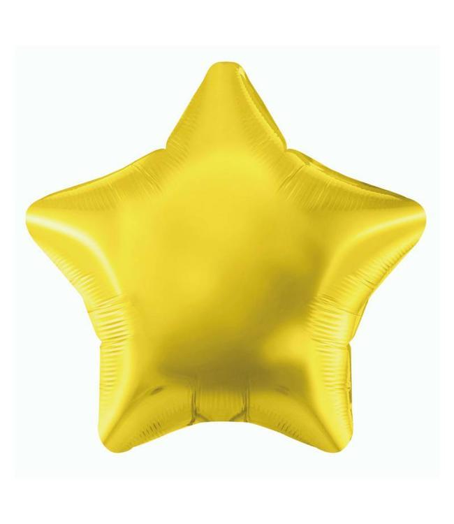 Oaktree Folieballon Ster Goud - 51 cm