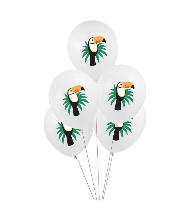 My Little Day Toekan Ballonnen - 5 stuks