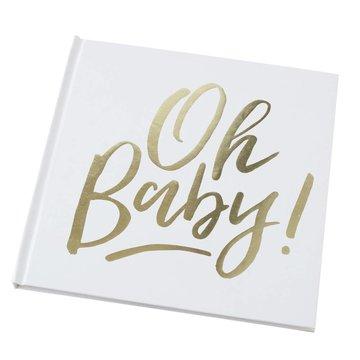 Ginger Ray Oh Baby! Gastenboek - per stuk