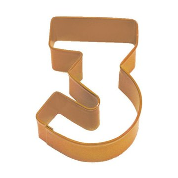 Creative Party Cookie Cutter (Uitsteker) Cijfer 3