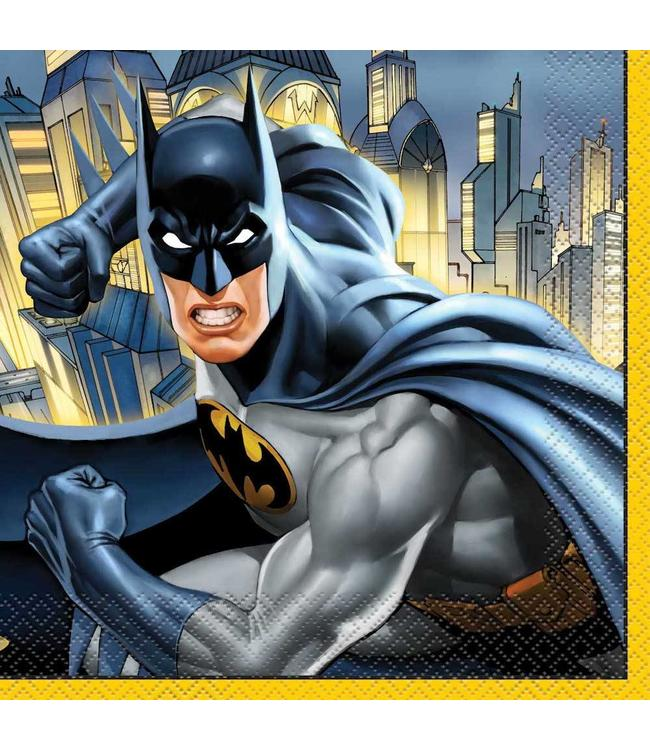 Unique Batman servetten - 16 stuks