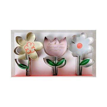 Meri Meri Cookie Cutters  Bloemen - Set van 3