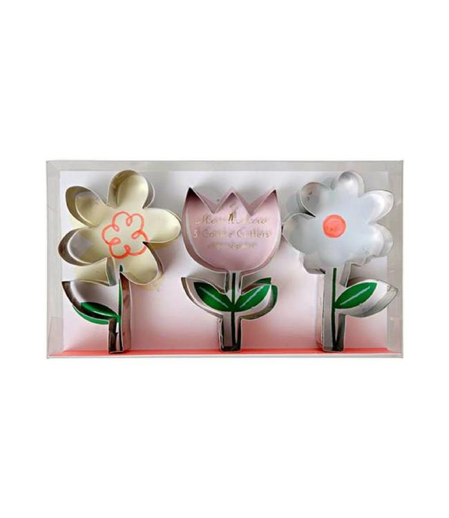 Meri Meri Cookie Cutters  Bloemen - Set van 3 - Uitsteekvormen