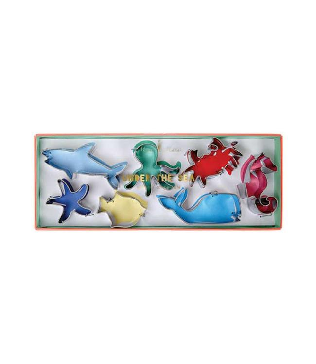 Meri Meri Cookie Cutters Zeedieren - Set van 7 - Uitsteekvormen