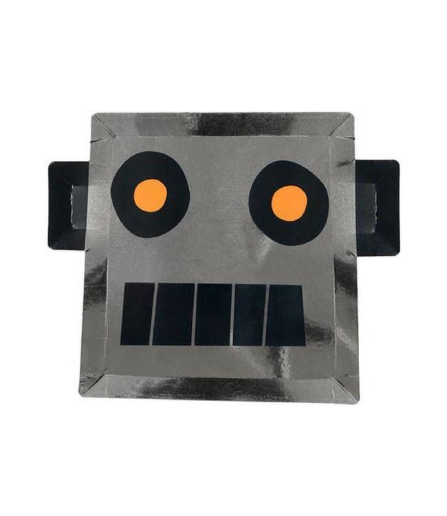 Meri Meri Robot Borden - 8 stuks - Space van Meri Meri