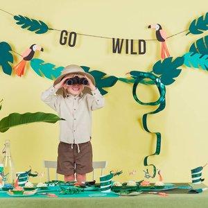 beste goedkoop 100% origineel nieuwste Jungle feestartikelen en versiering voor een safari of ...