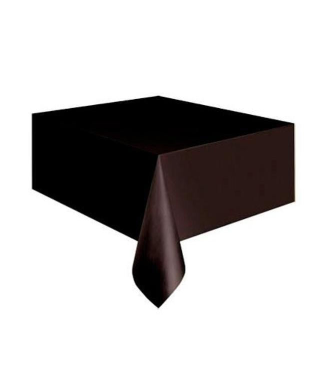 Amscan Zwart Tafelkleed - 1,37 x 2,74 meter - plastic