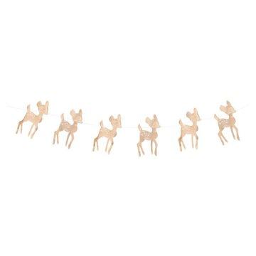 My Little Day Hert Slinger (Goud) - per stuk - 3 meter