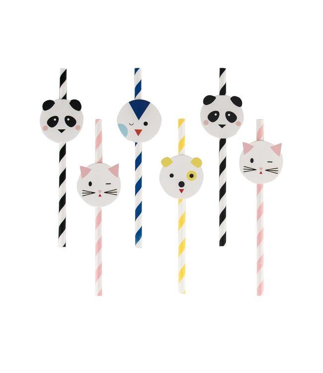 My Little Day Mini Animals Rietjes - 12 stuks
