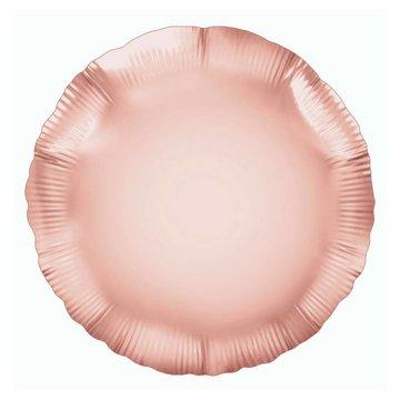 Unique Folieballon Rond Roségoud - 46 cm