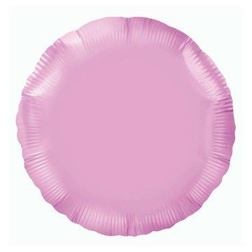 Oaktree Folieballon Rond Lichtroze - 46 cm