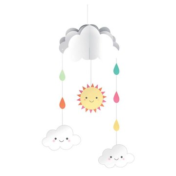 Creative Party Lief Wolkje Mobiel Hangdecoratie - per stuk
