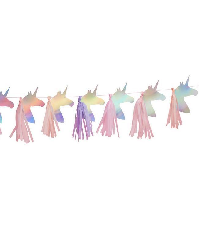 Ginger Ray Make a Wish Unicorn Slinger met Tassels - 1,5 meter