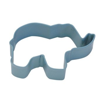 Creative Party Cookie Cutter (Uitsteker) Olifant Blauw - per stuk