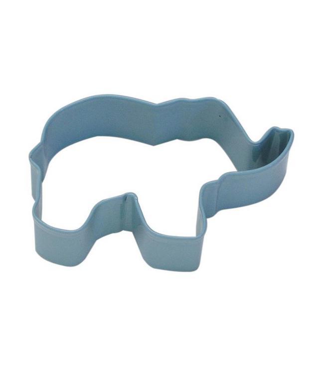 Creative Party Cookie Cutter (Uitsteker) Olifant Blauw - per stuk
