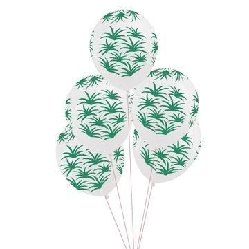 My Little Day Ballonnen met Tropische Blaadjes - 5 stuks  - Tropical Party