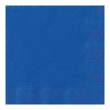 Unique Donkerblauwe Servetten - 20 stuks